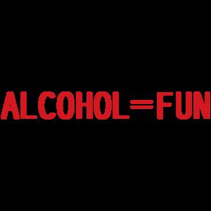 Alcohol = Fun