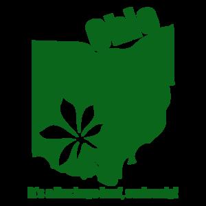 Ohio, It's A Buckeye Leaf Marijuana