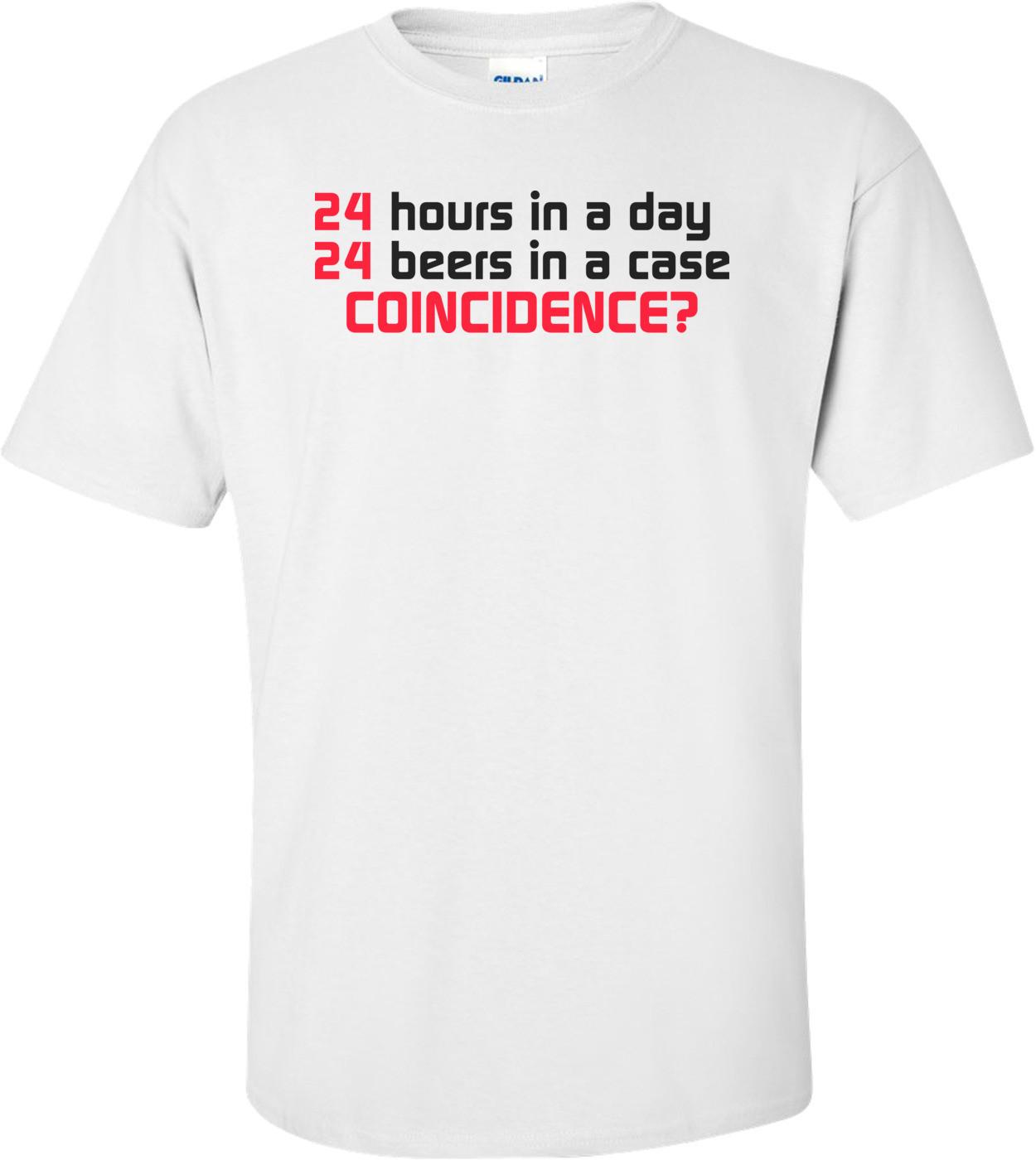 24 Hours In A Day, 24 Beers In A Case. Coincidence?
