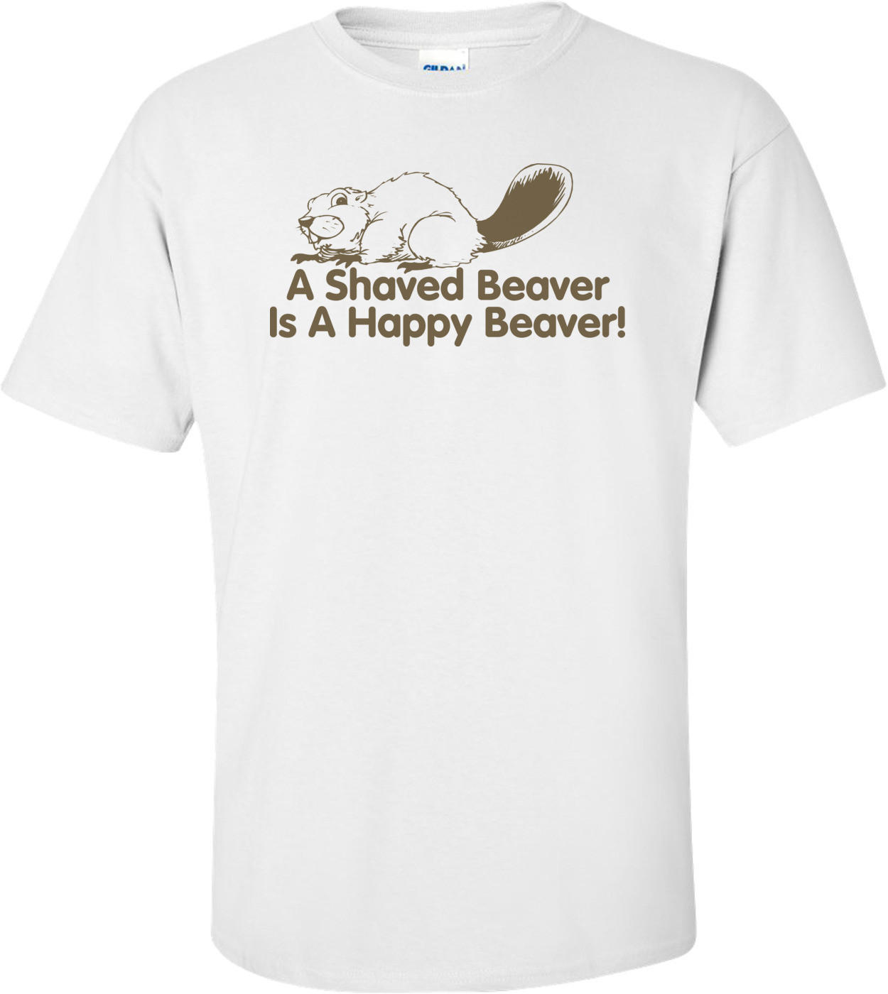 A Shaved Beaver Is A Happy Beaver