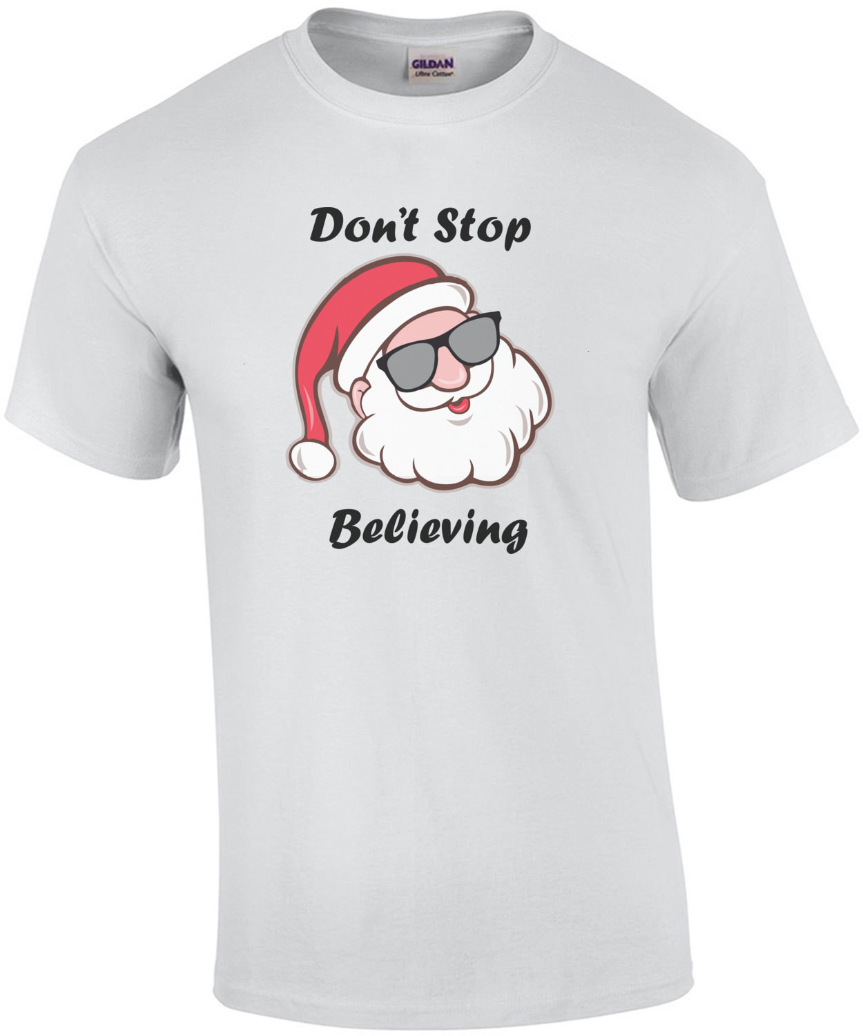 Don't Stop Believing - Santa Christmas