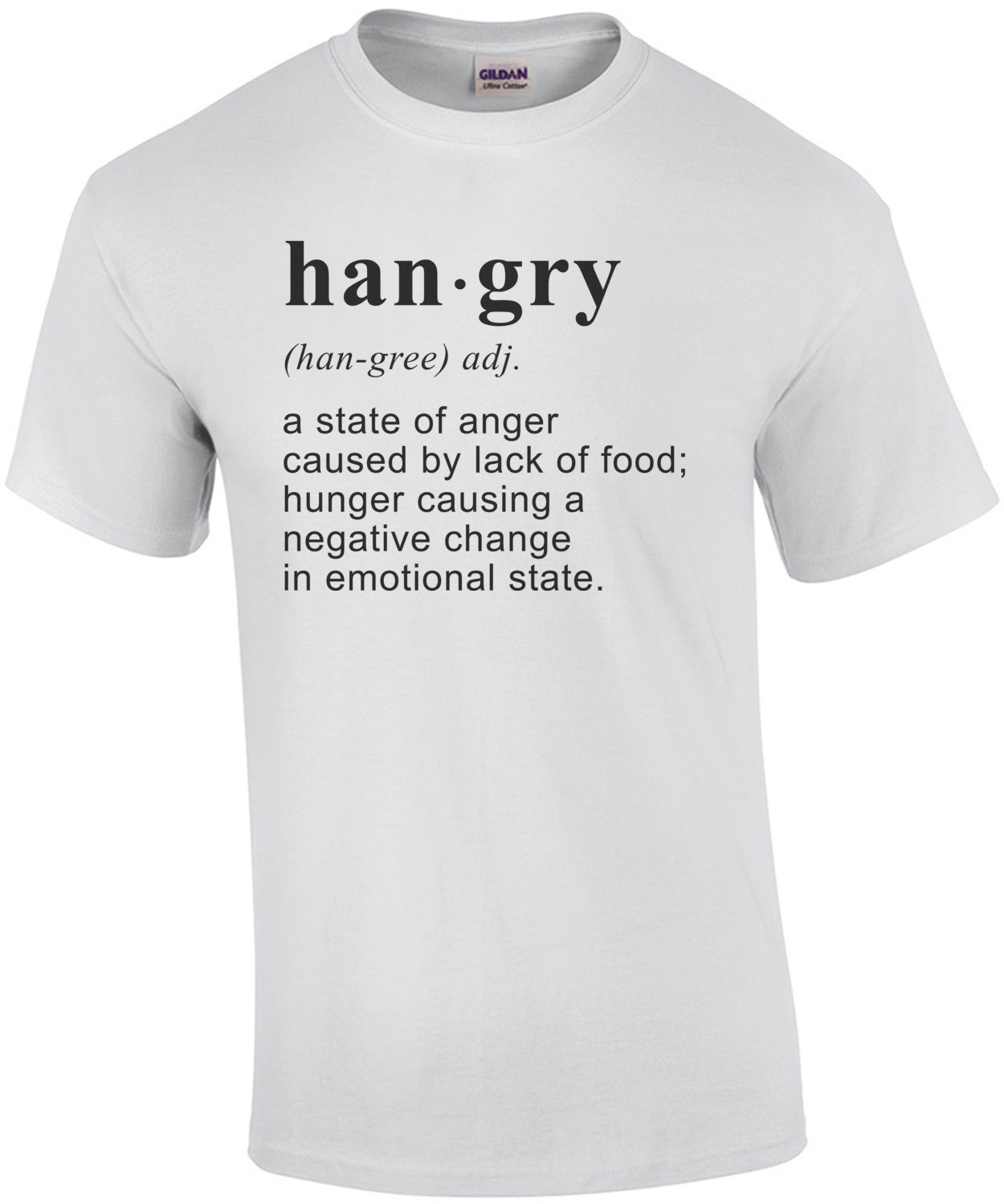 hangry - a state of anger caused by lack of food