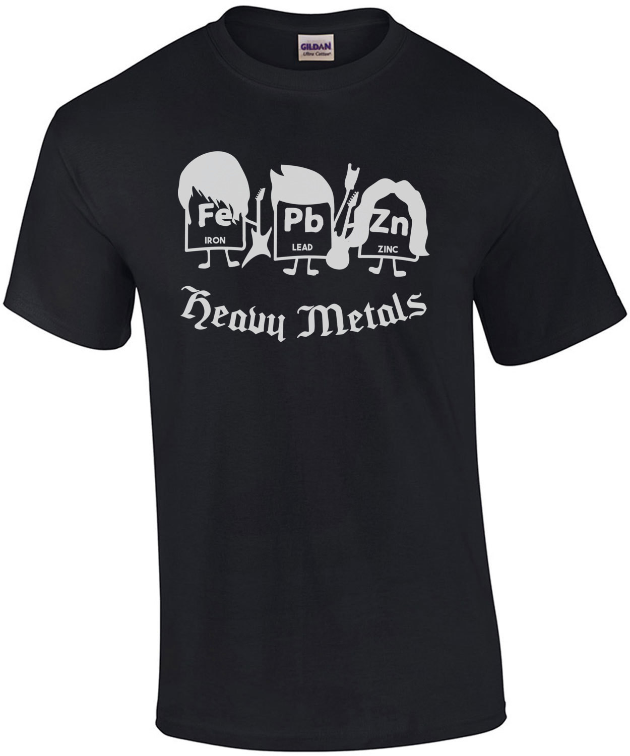 Heavy Metals - Funny chemistry periodic table elements