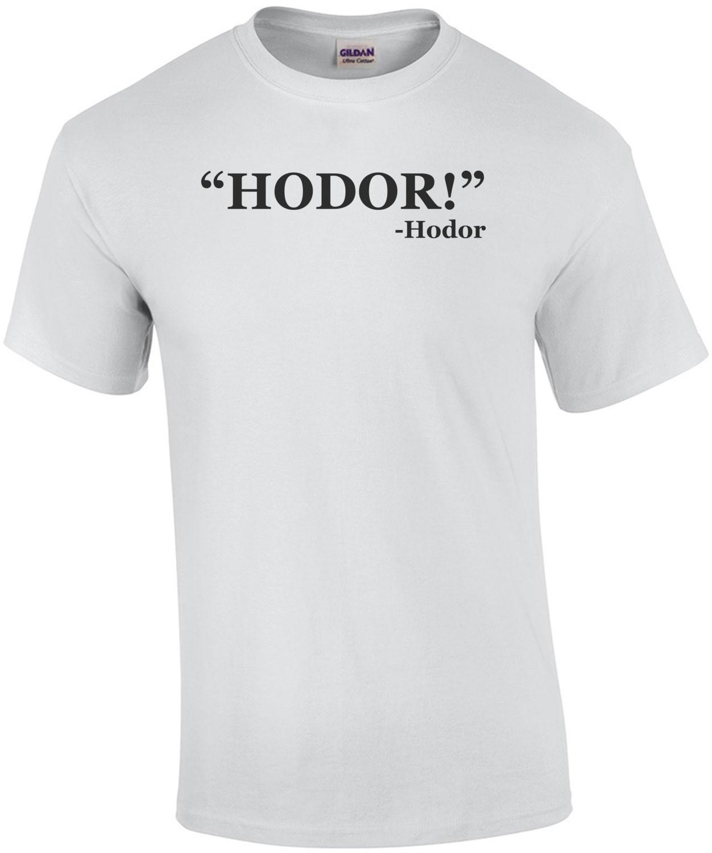 Hodor! Hodor Quote