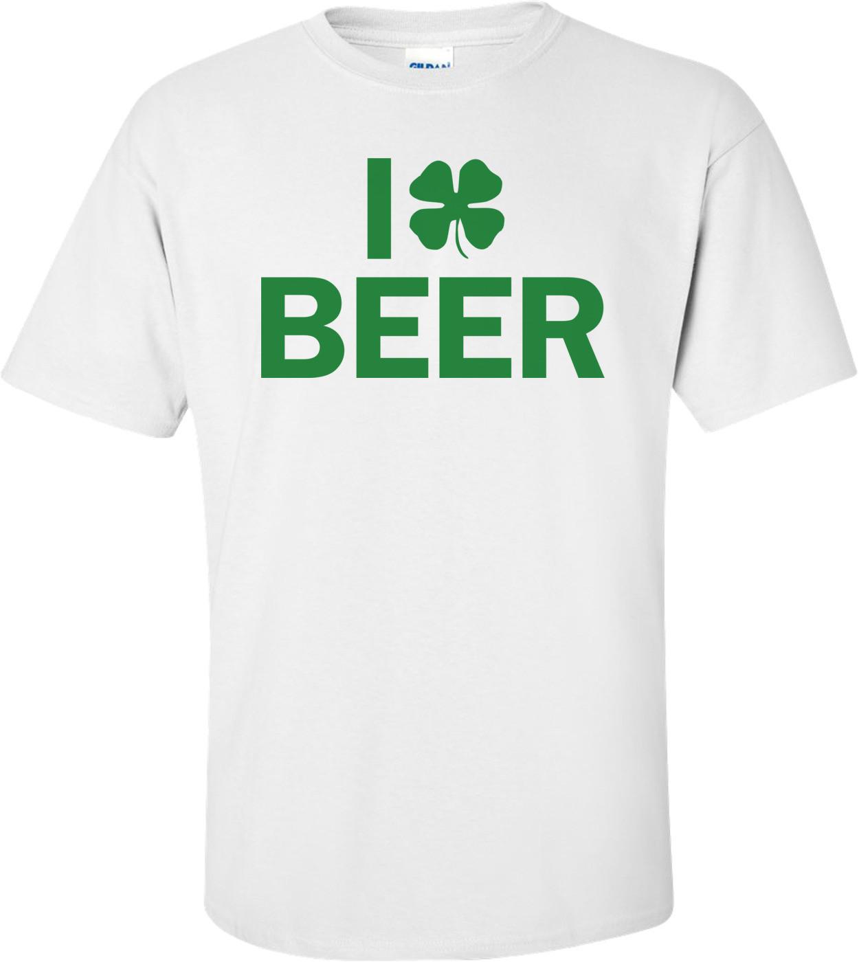 I Clover Beer St. Patrick's Day