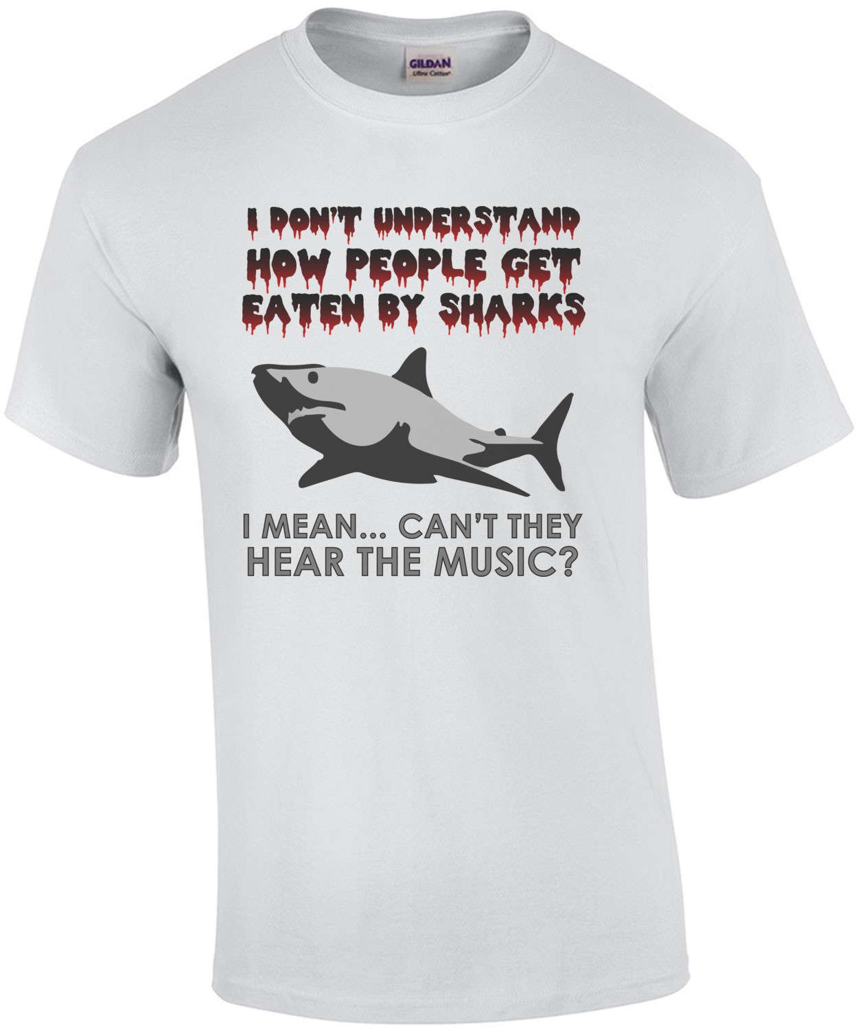 I don't understand how people get eaten by sharks - funny