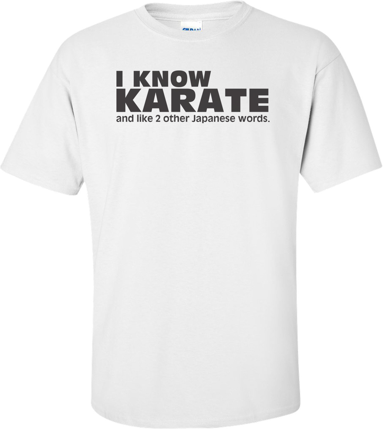 I Know Karate, And Like 2 Other Japanese Words