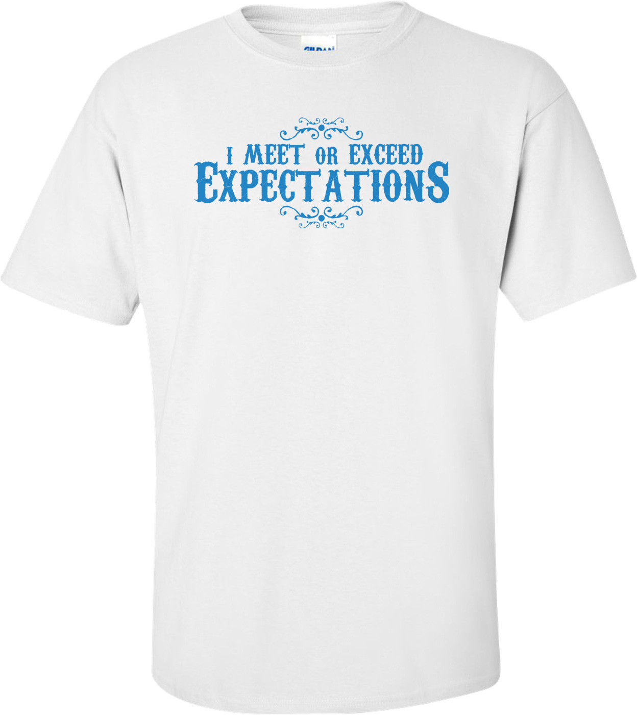 I Meet Or Exceed Expectations