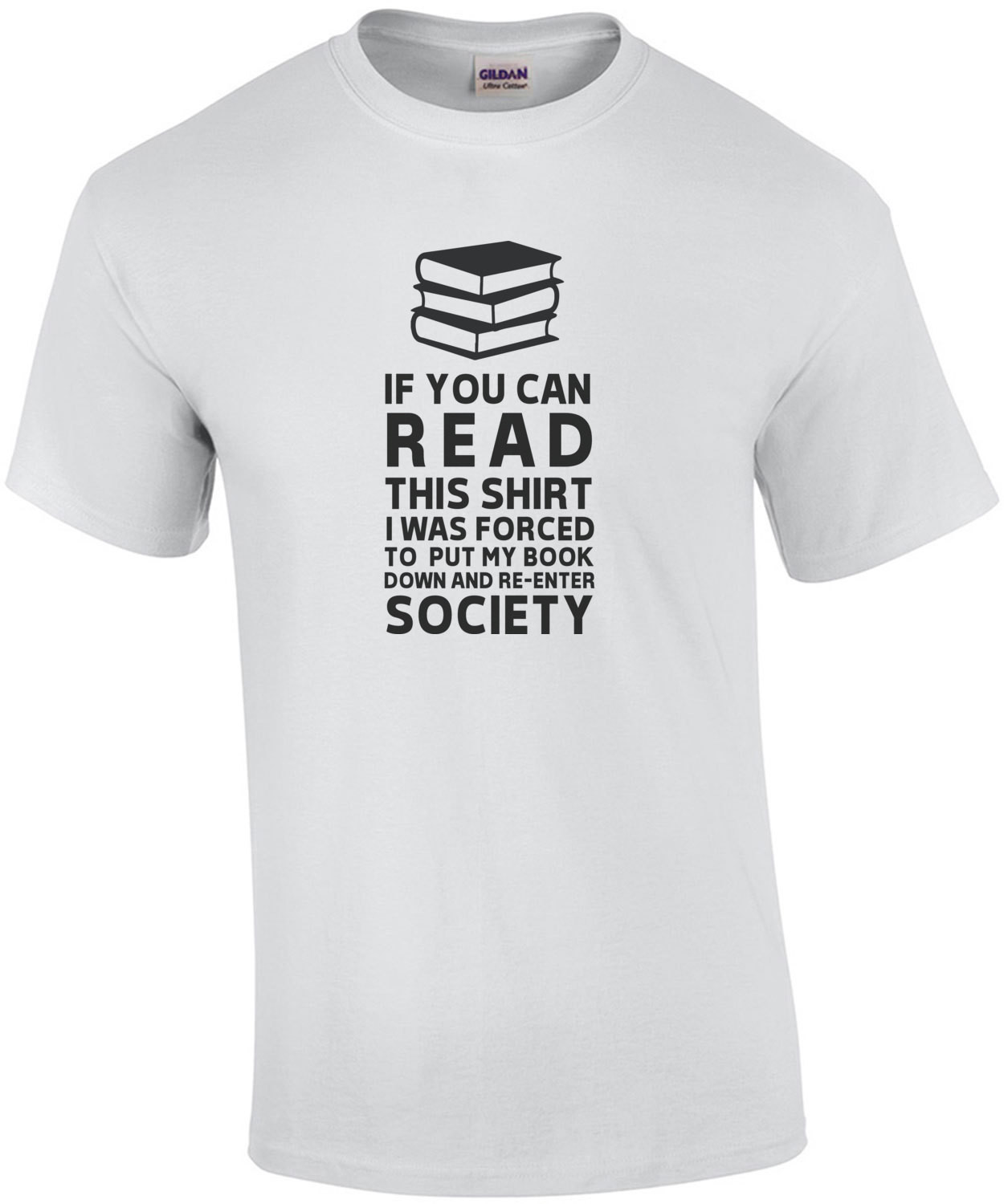 If you can read this I was forced to put my book down and re-enter society - funny book worm - funny reading
