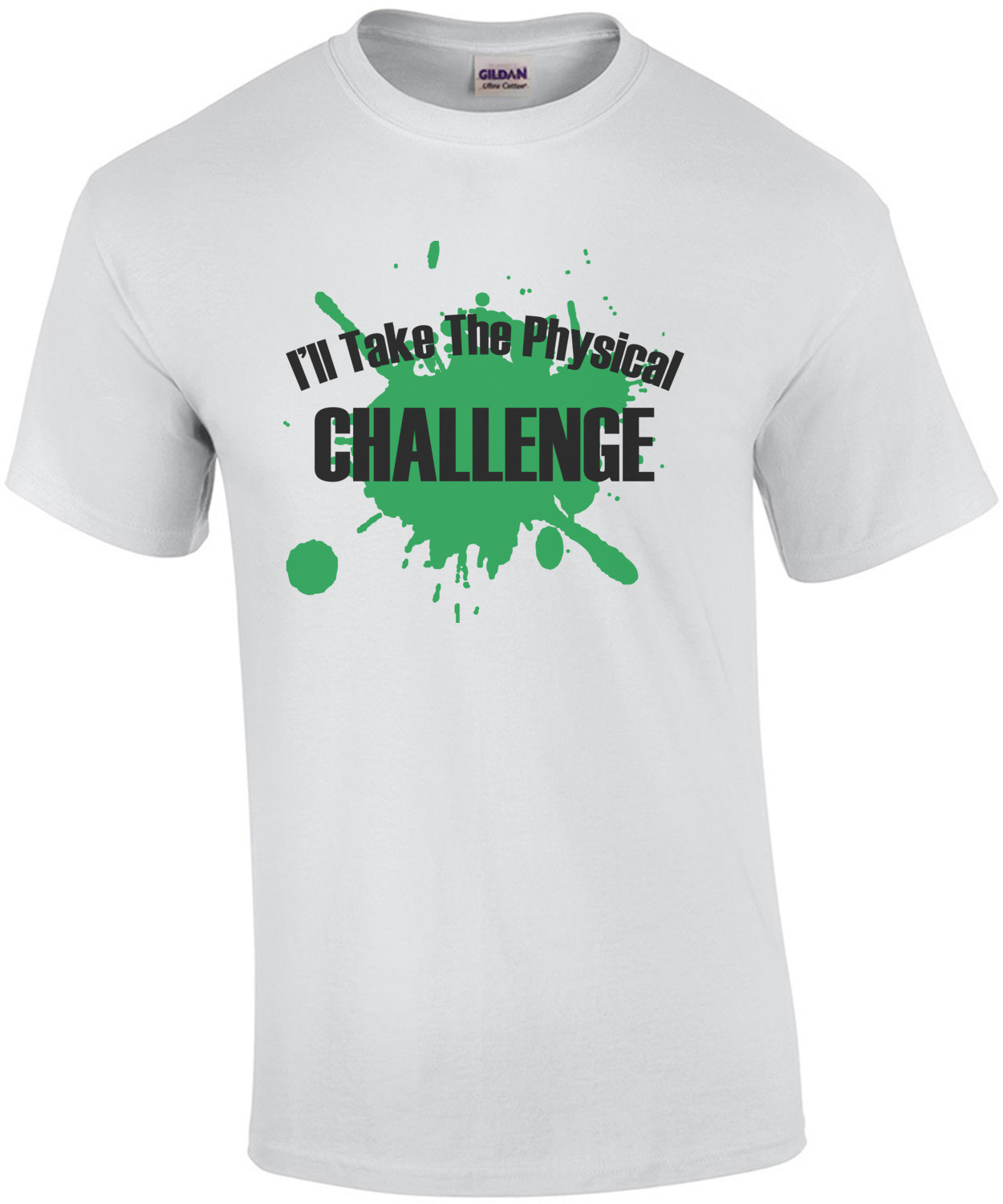 I'll take the physical challenge Double Dare