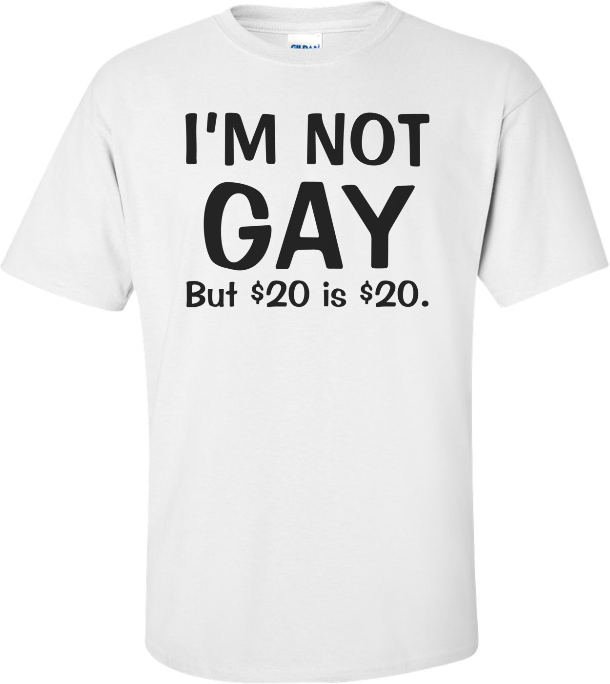 I'm Not Gay But $20 Is $20 Funny