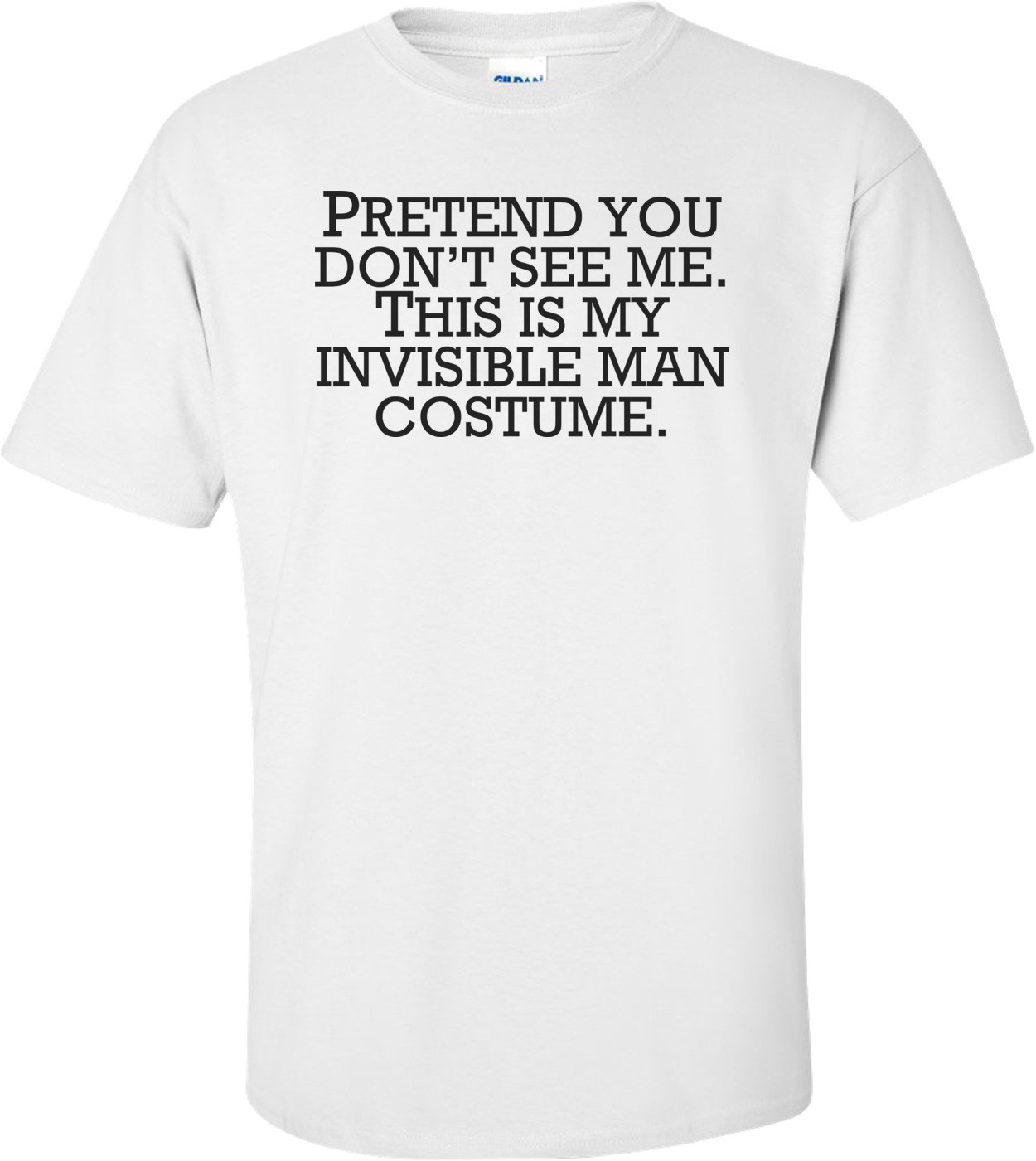 Invisible Man Costume Pretend You Don't See Me - Halloween