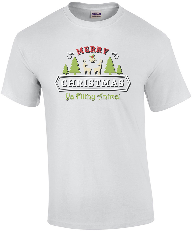 Merry Christmas Ya Filthy Animal - Christmas