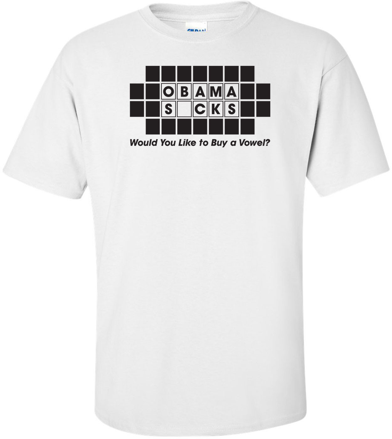 Obama Sucks Would You Like To Buy A Vowel Anti-obama