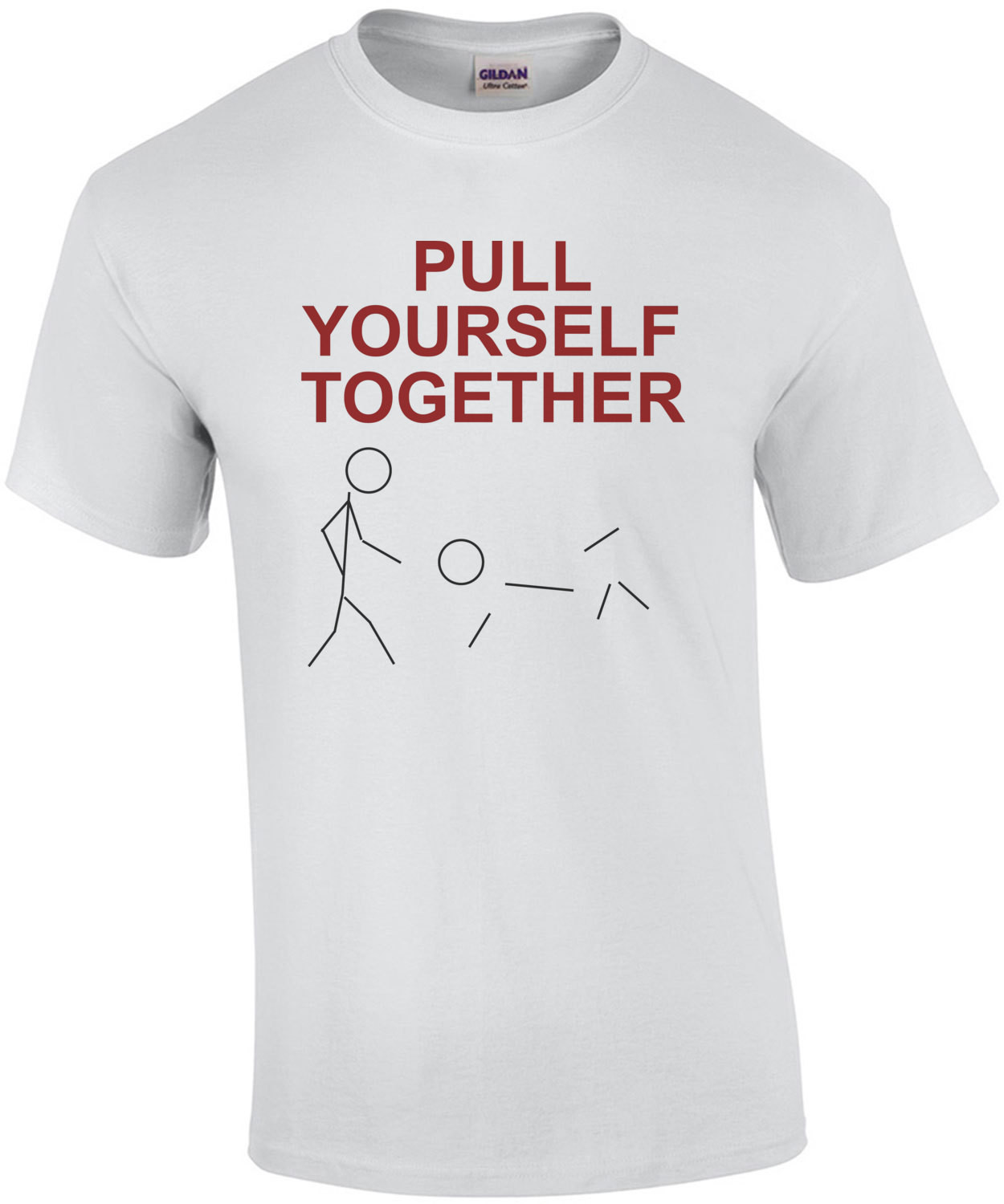 Pull Yourself Together - Funny Stick Figure