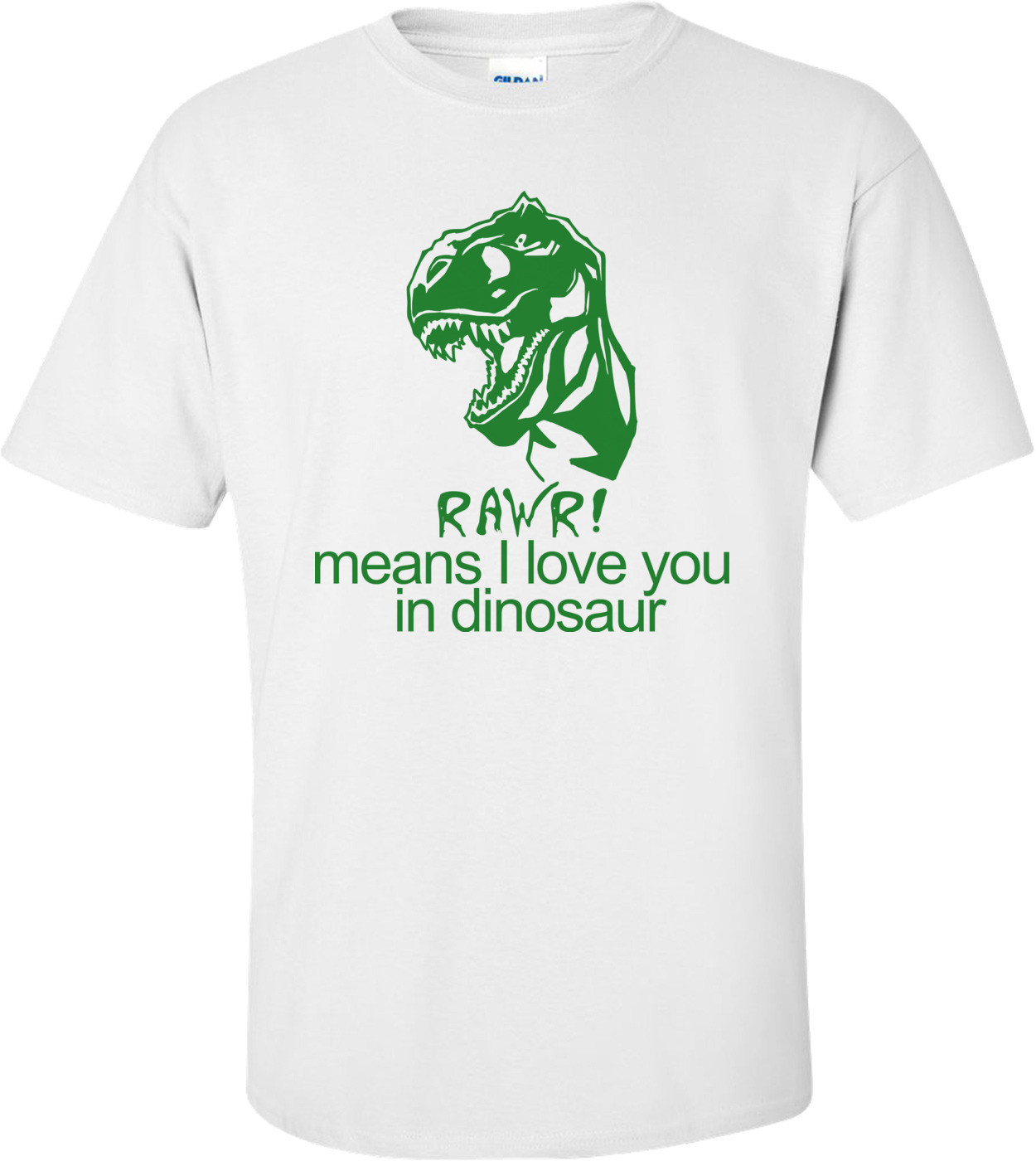 Rawr! Means I Love You In Dinosaur Funny