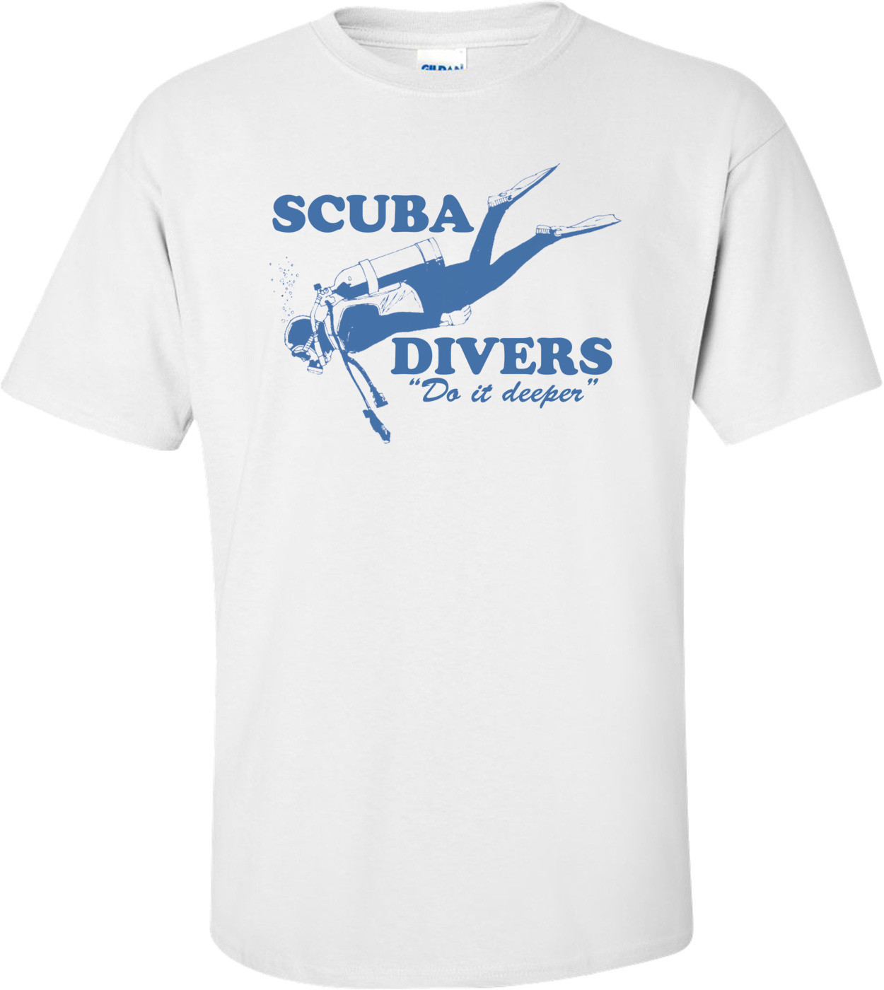 Scuba Divers Do It Deeper