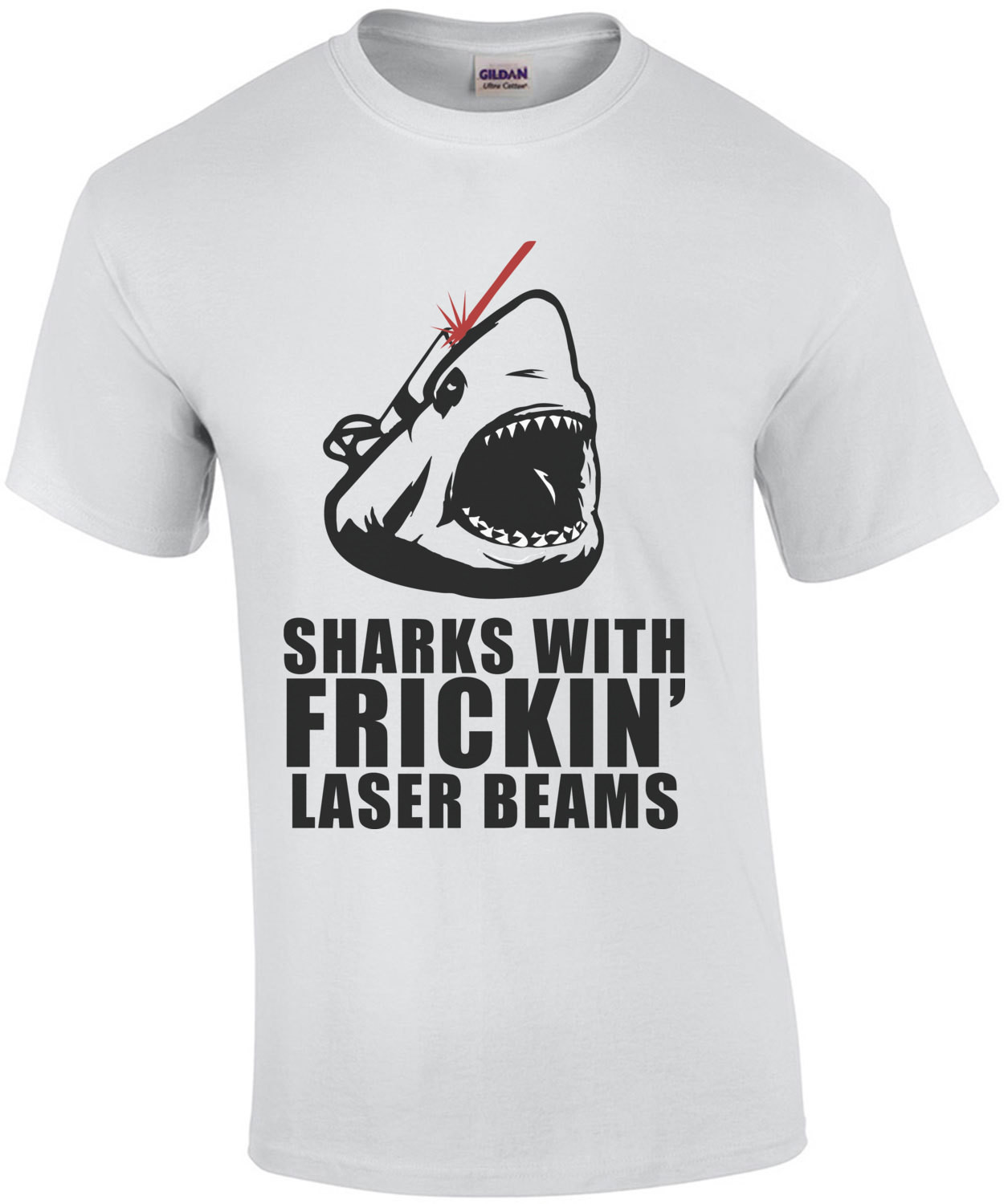 Sharks with frickin laser beams - austin powers
