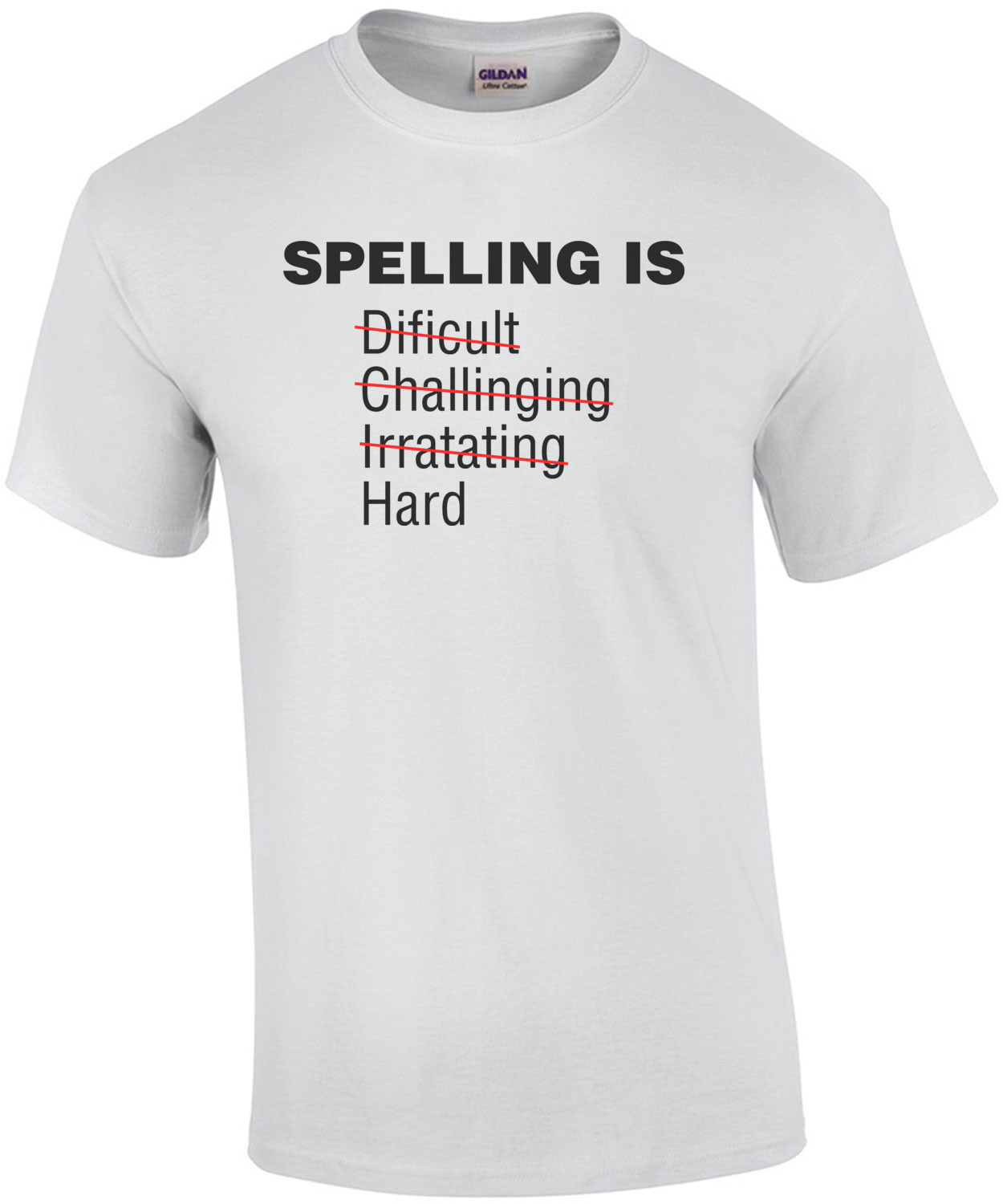 Spelling Is Dificult... - Funny
