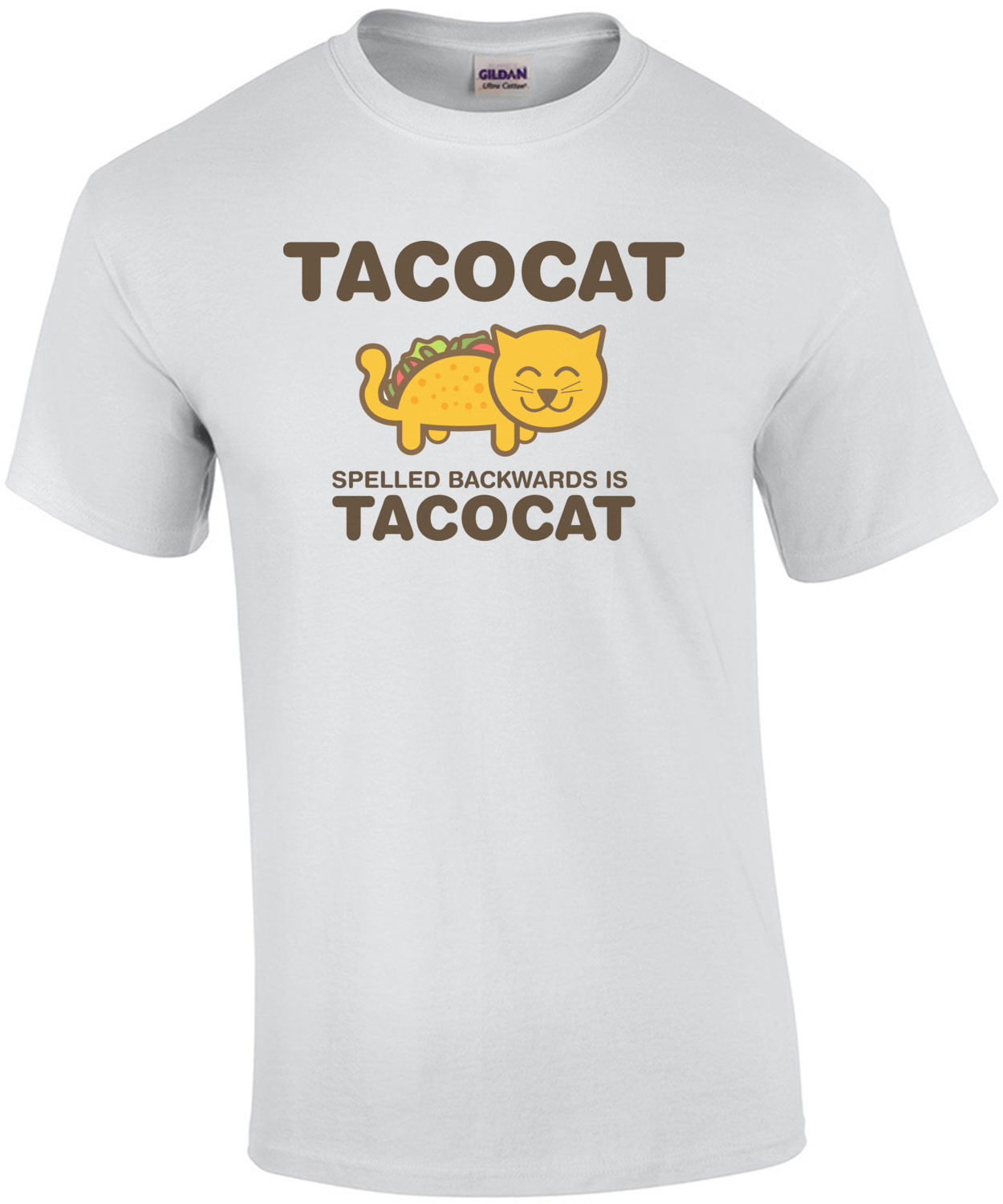 Tacocat spelled backwards is Tacocat