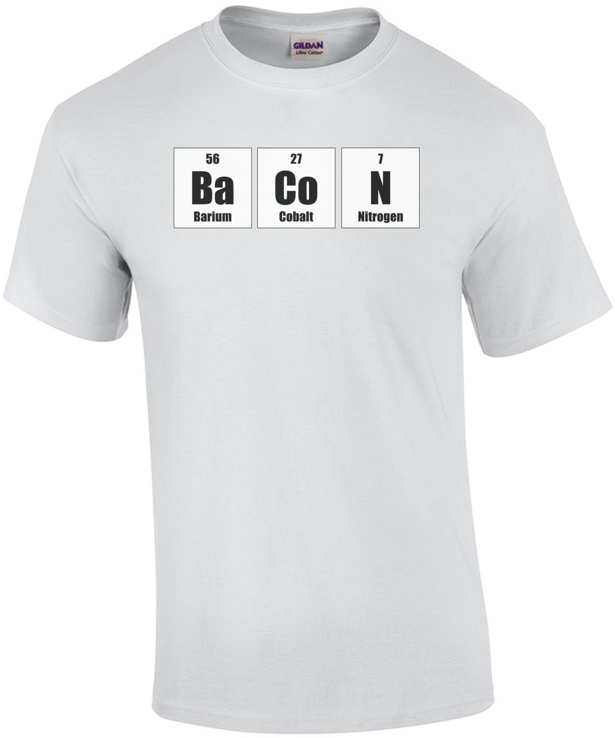 The elements of bacon - funny bacon