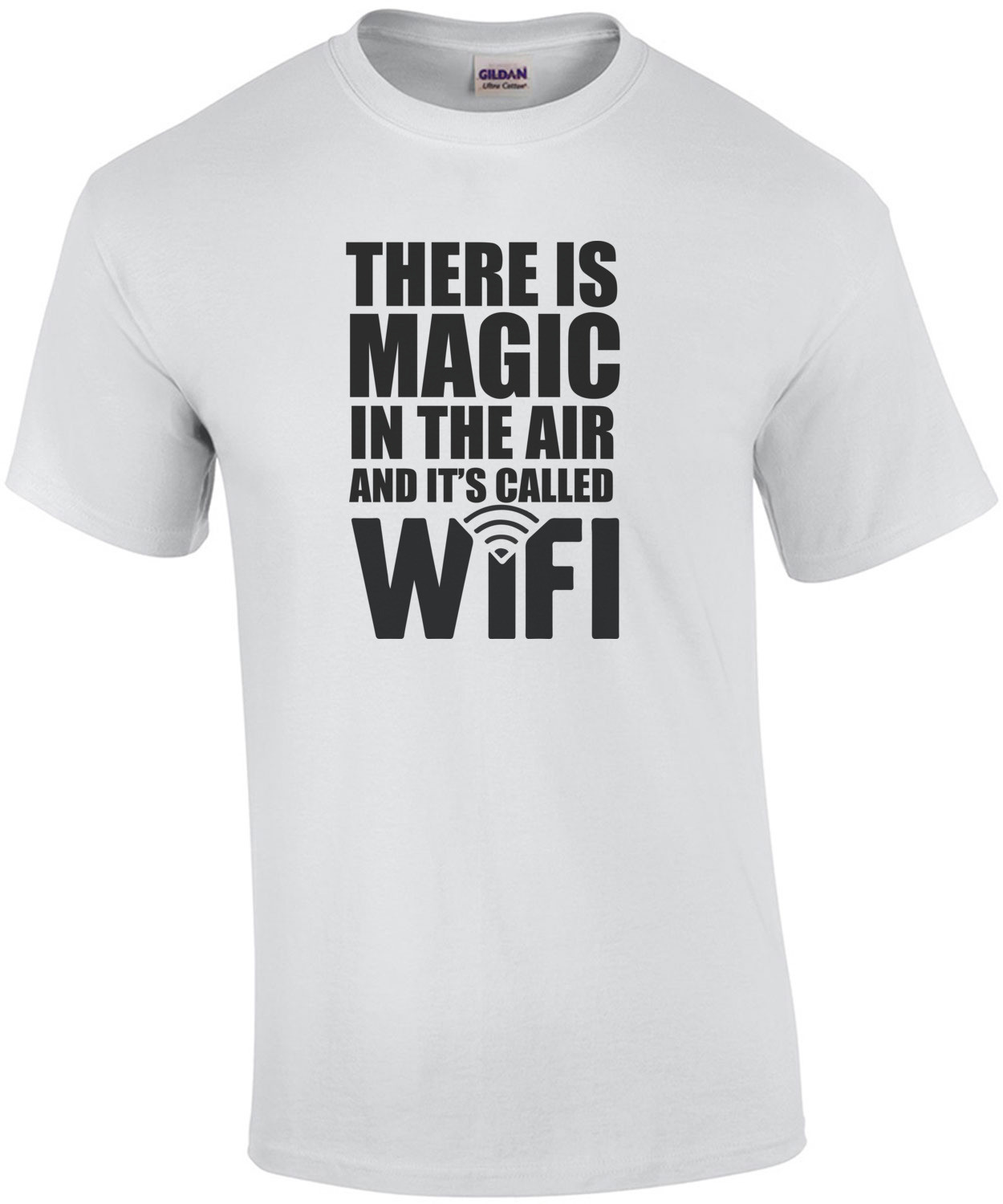 There is magic in the air and it's called WiFi.