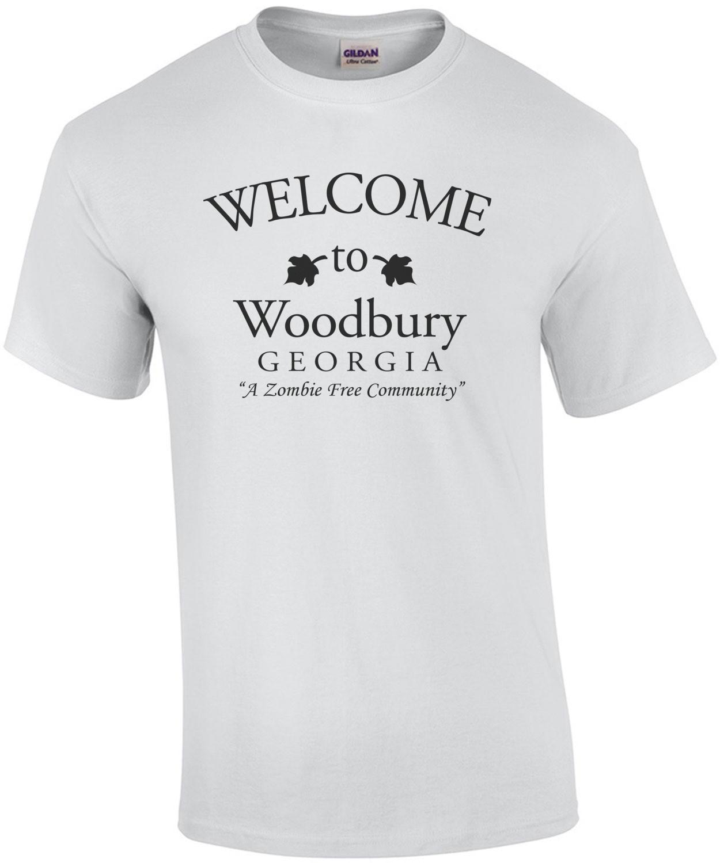 Welcome to Woodbury Georgia - a zombie free community - walking dead