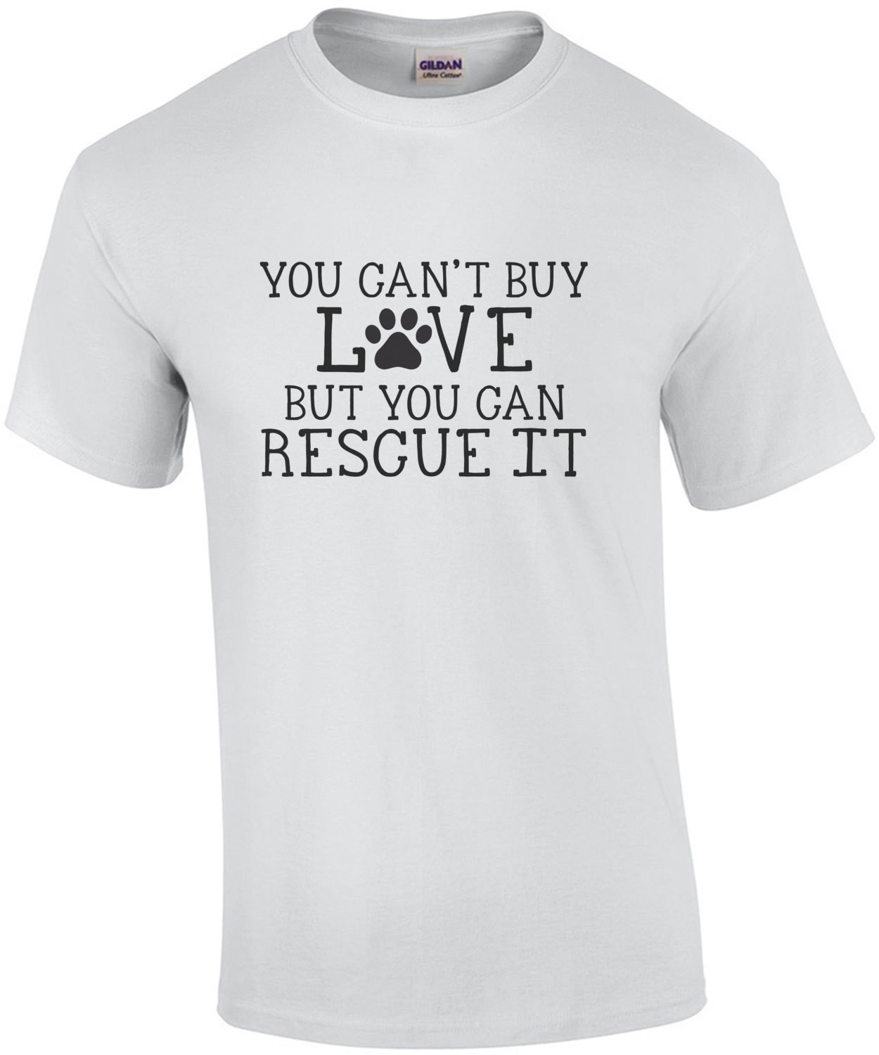 You can't buy love but you can rescue it - rescue dog