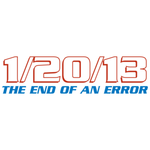 1/20/13 The End Of An Error Anti Obama