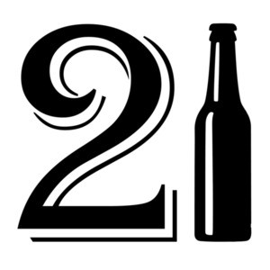 21 Birthday - beer bottle - happy 21 birthday