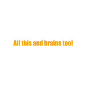 all this and brains too