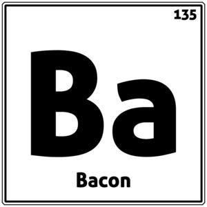 Bacon Periodic Table