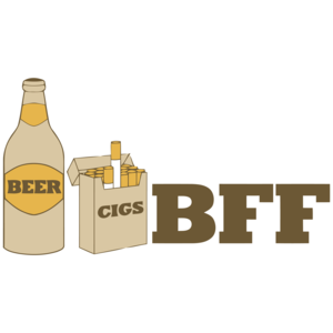 Beer And Cigs Best Friends Forever
