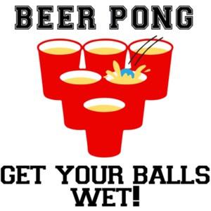 Beer Pong - Get your balls wet