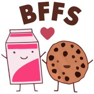Best Friends - Cookies and Milk Funny