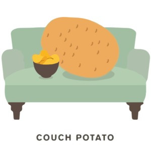 Couch Potato Pun