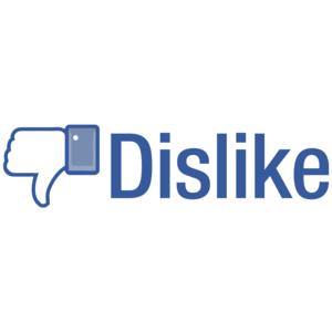 Dislike - Facebook