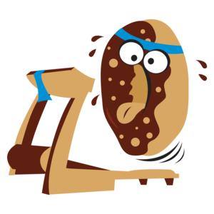 Donut On Treadmill Funny