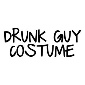 Drunk Guy Costume Halloween