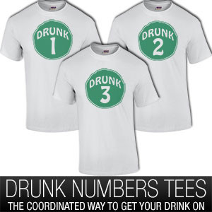 Drunk Groups With Numbers
