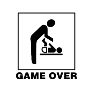 Game Over Newborn