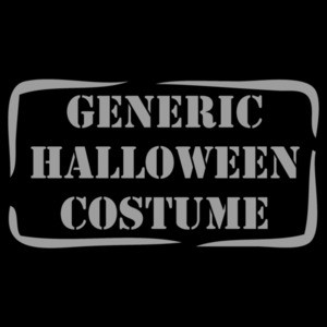 Generic Halloween Costume