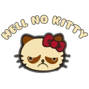 Hell No Kitty - Hello Kitty Parody