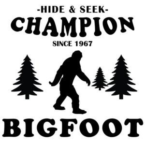 Hide & Seek Champion Bigfoot