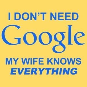 I Don't Need Google