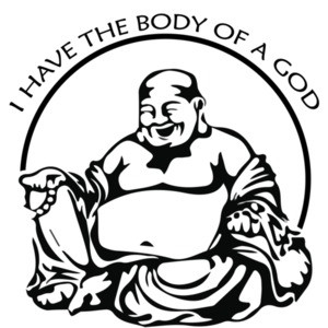 I have the body of a god - funny fat guy