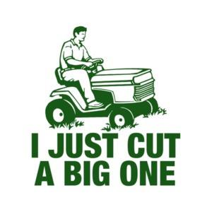 I Just Cut a Big One