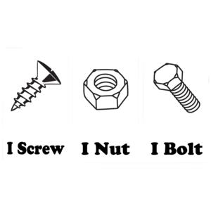 I Screw I Nut I Bolt