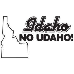 Idaho No Udaho