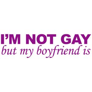 I'm Not Gay But My Boyfriend Is
